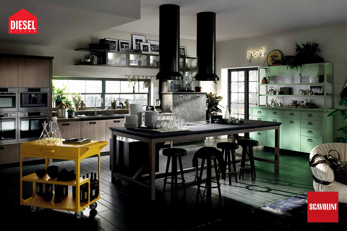 Italian Kitchens - Diesel Social Kitchen-04