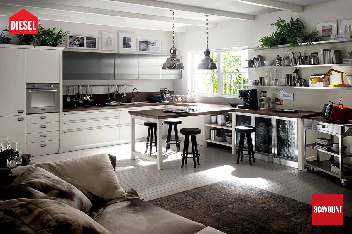 Italian Kitchens - Diesel Social Kitchen-05