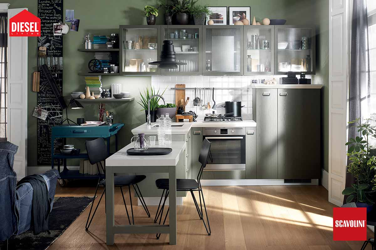 Italian Kitchens - Diesel Social Kitchen-06