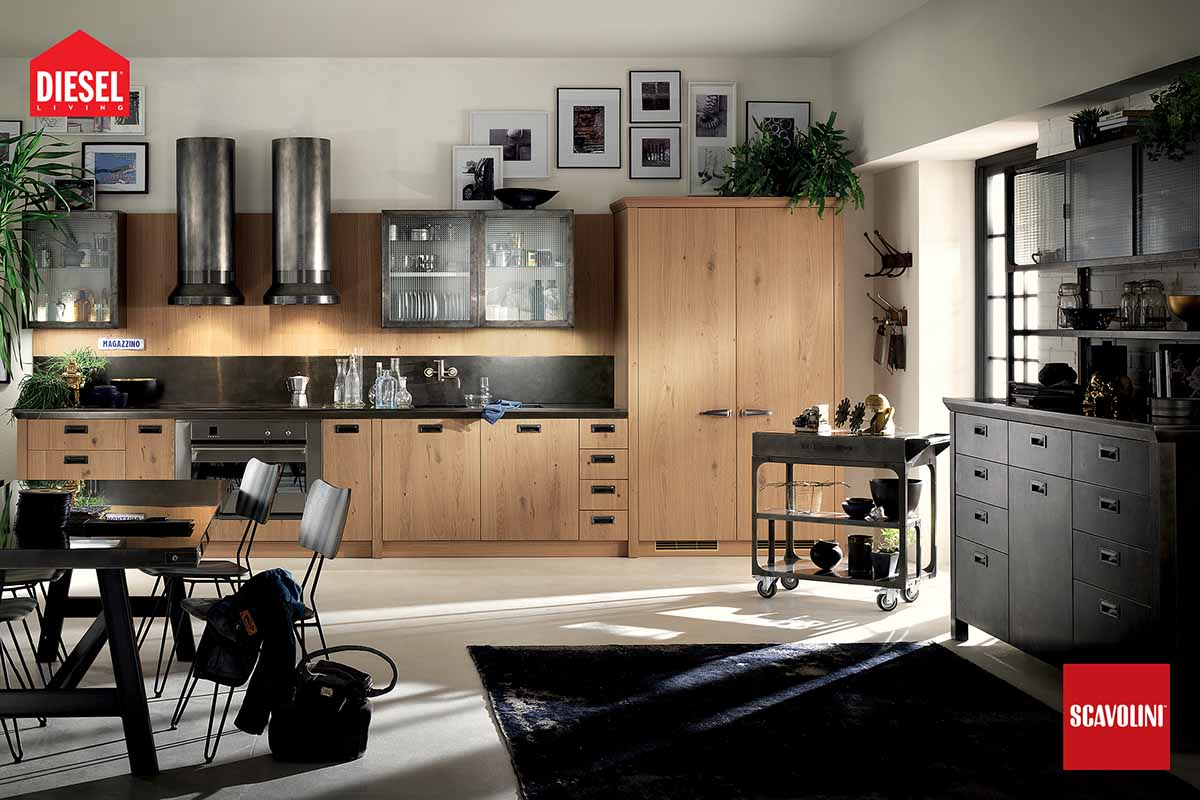 Fitted Kitchens - Diesel Social Kitchen-08