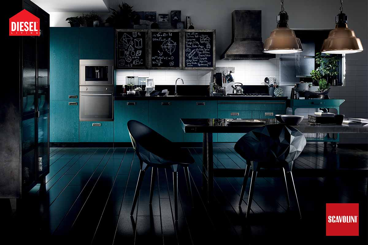 Fitted Kitchens - Diesel Social Kitchen