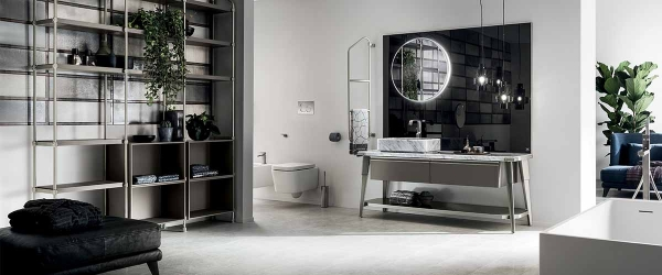 Bathroom Suite-Diesel Open Workshop-Grey