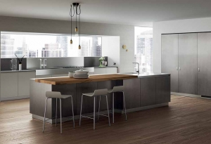 kitchen design - modern minimalist kitchen