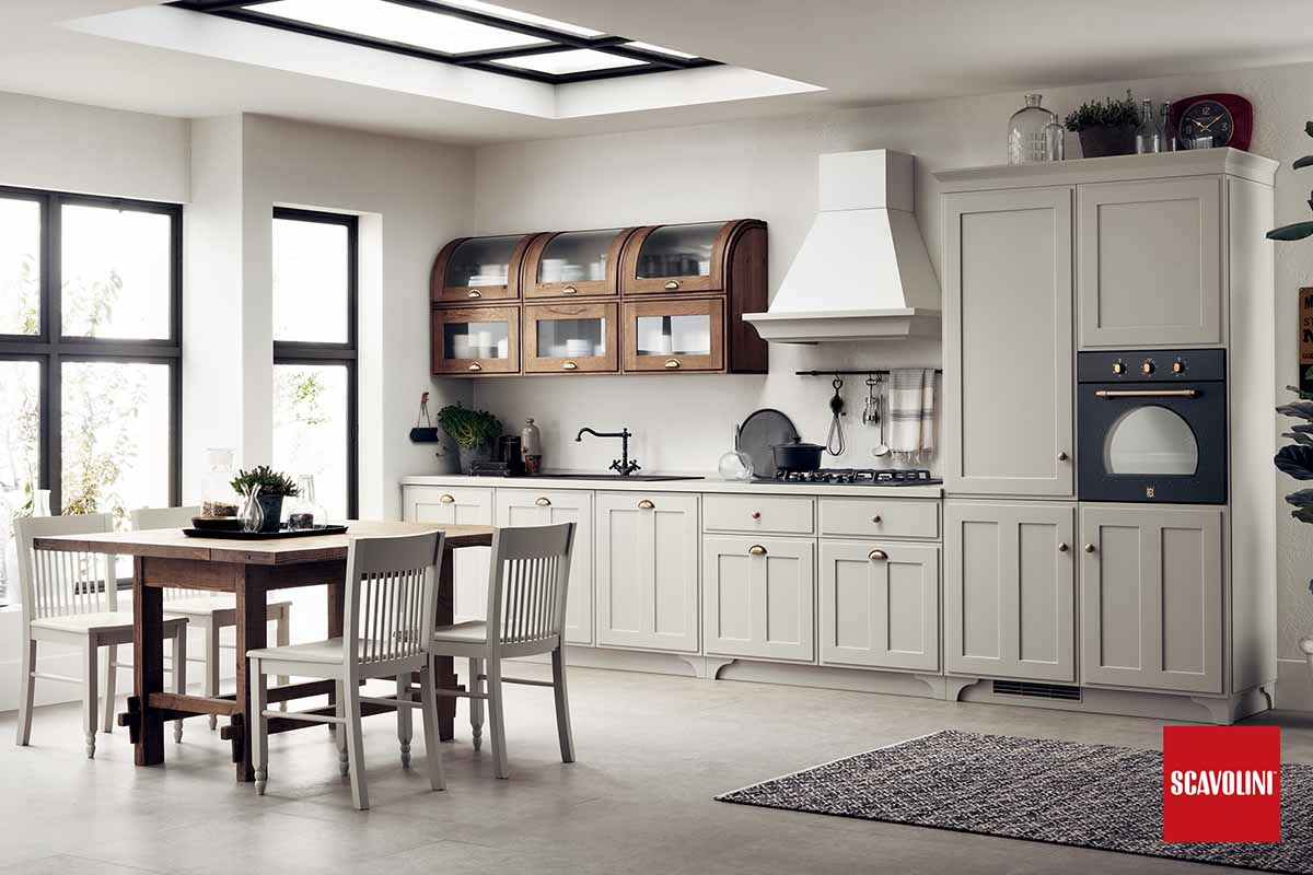 Wood Italian Fitted Kitchen-Favilla-02