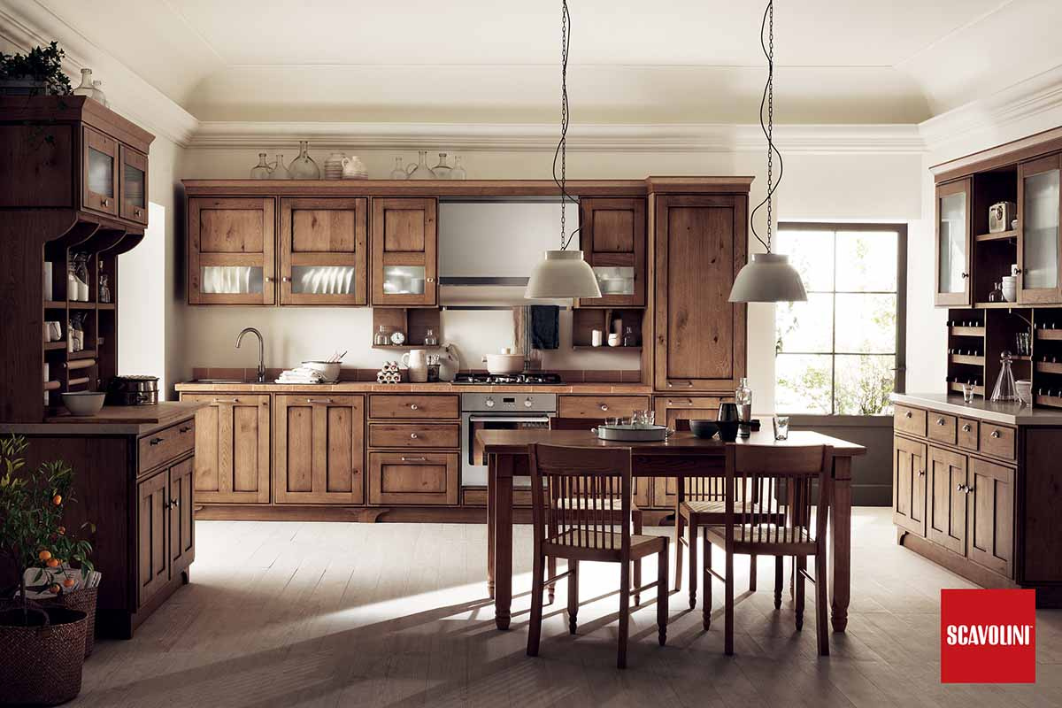 Wood Italian Fitted Kitchen-Favilla-05