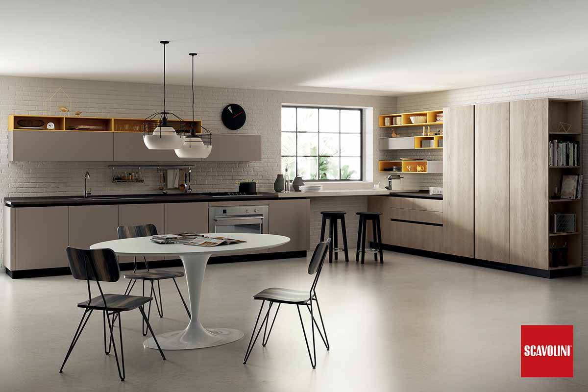 All White Italian Fitted Kitchen-Liberamente-01