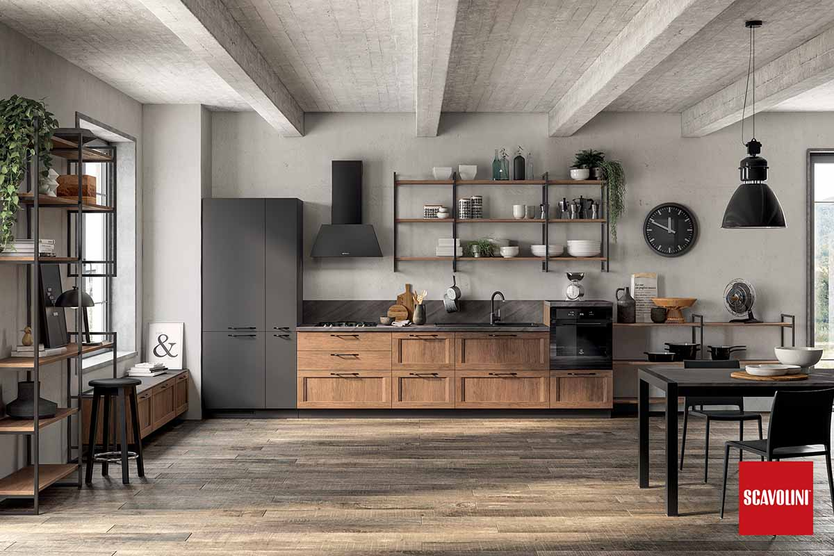 Fitted Kitchen-Italian Design-sax-02