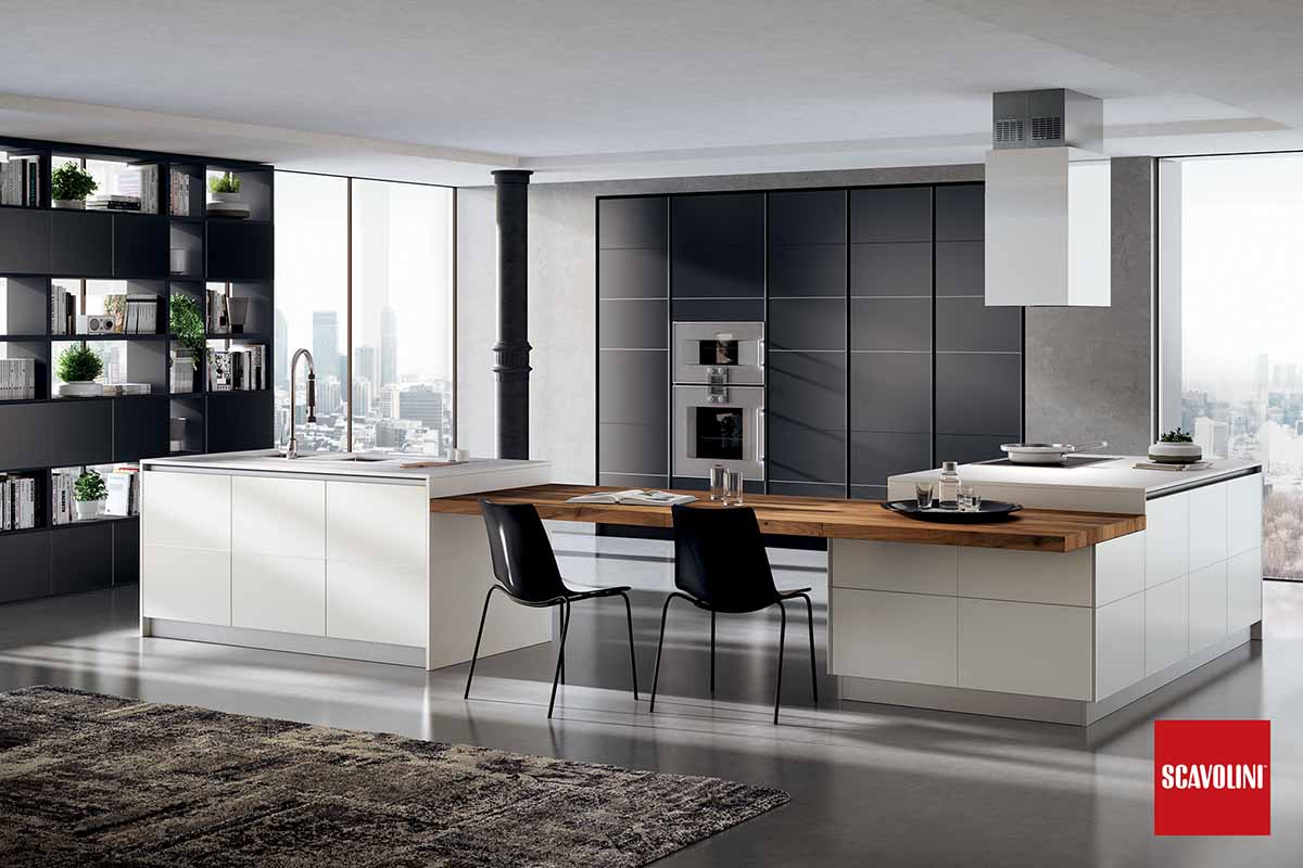 Italian Design Fitted Kitchen-Tetrix-01