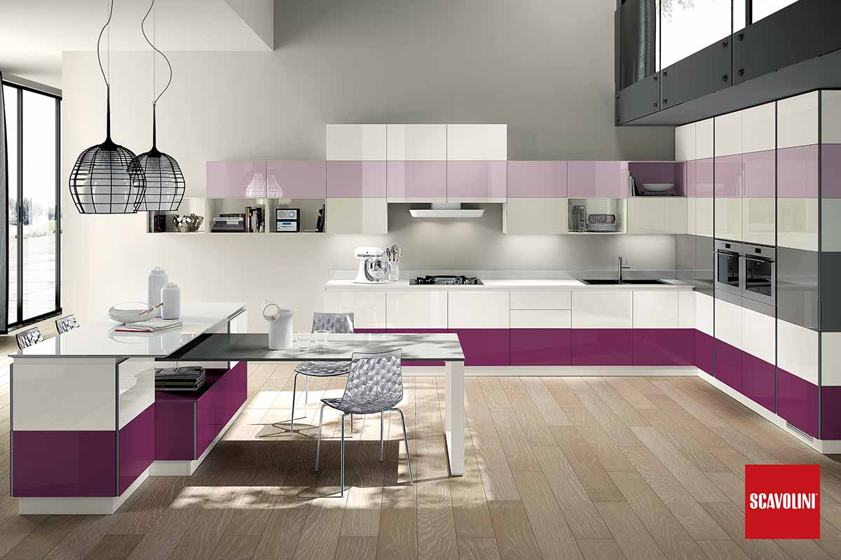 Italian Design Fitted Kitchen-Tetrix-03