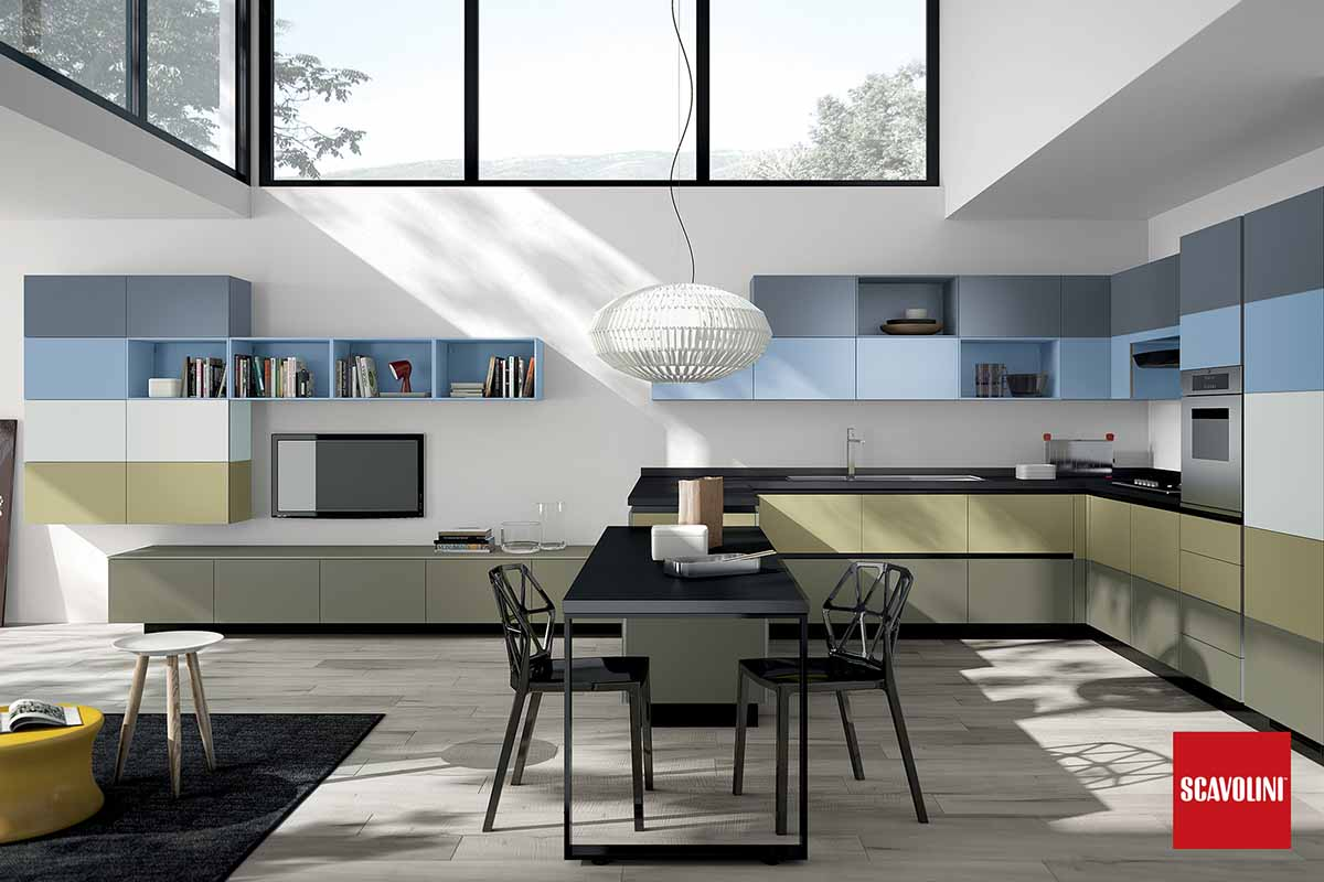 Italian Design Fitted Kitchen-Tetrix-04