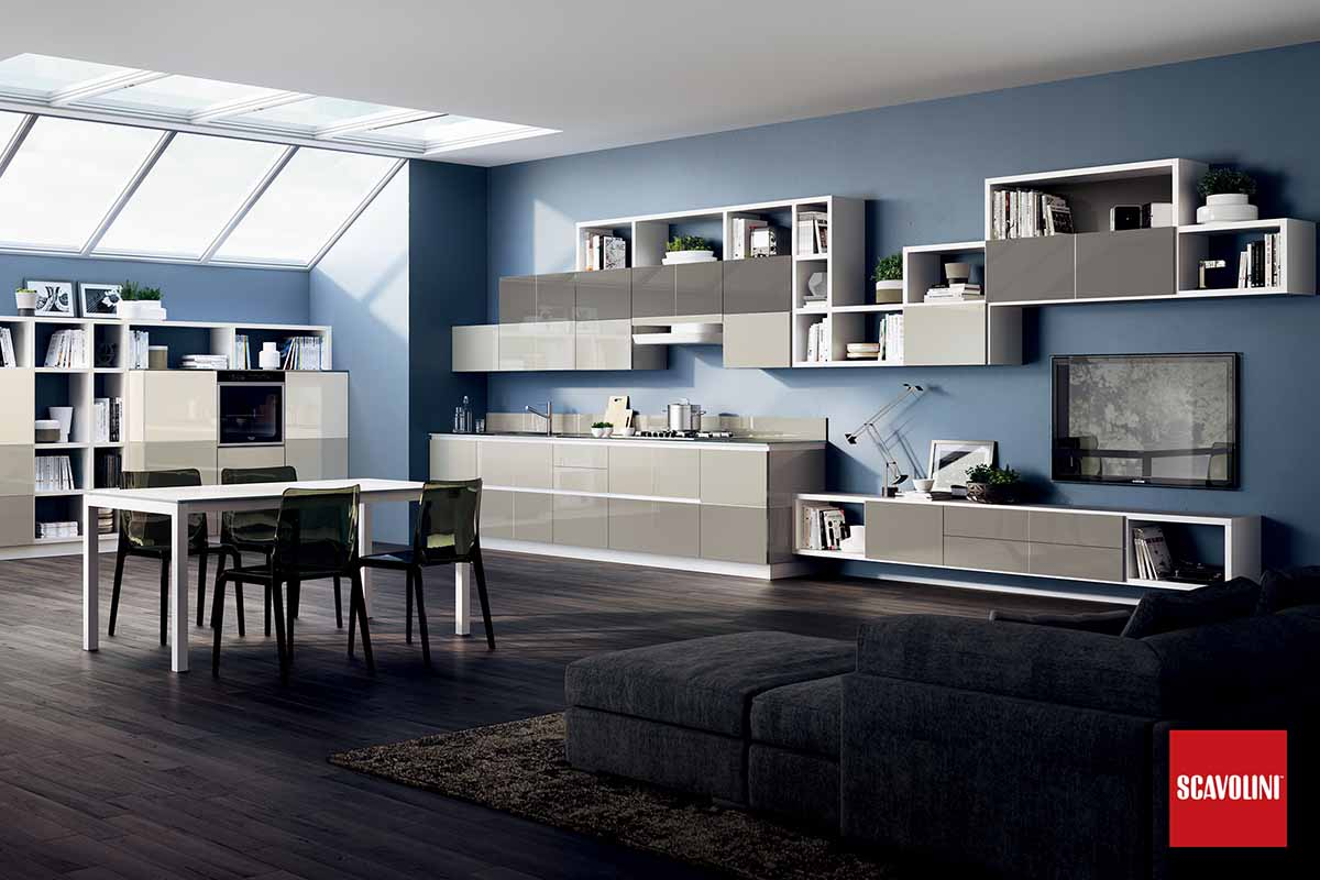 Italian Design Fitted Kitchen-Tetrix-05