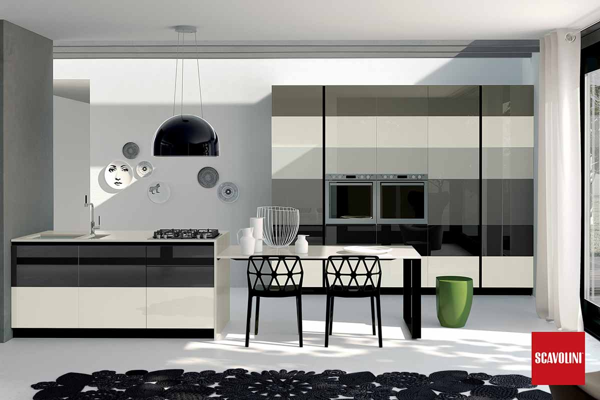 Fitted Italian Kitchen-Tetrix-06