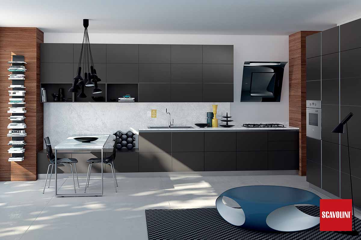 Italian Fitted Kitchen-Tetrix-07