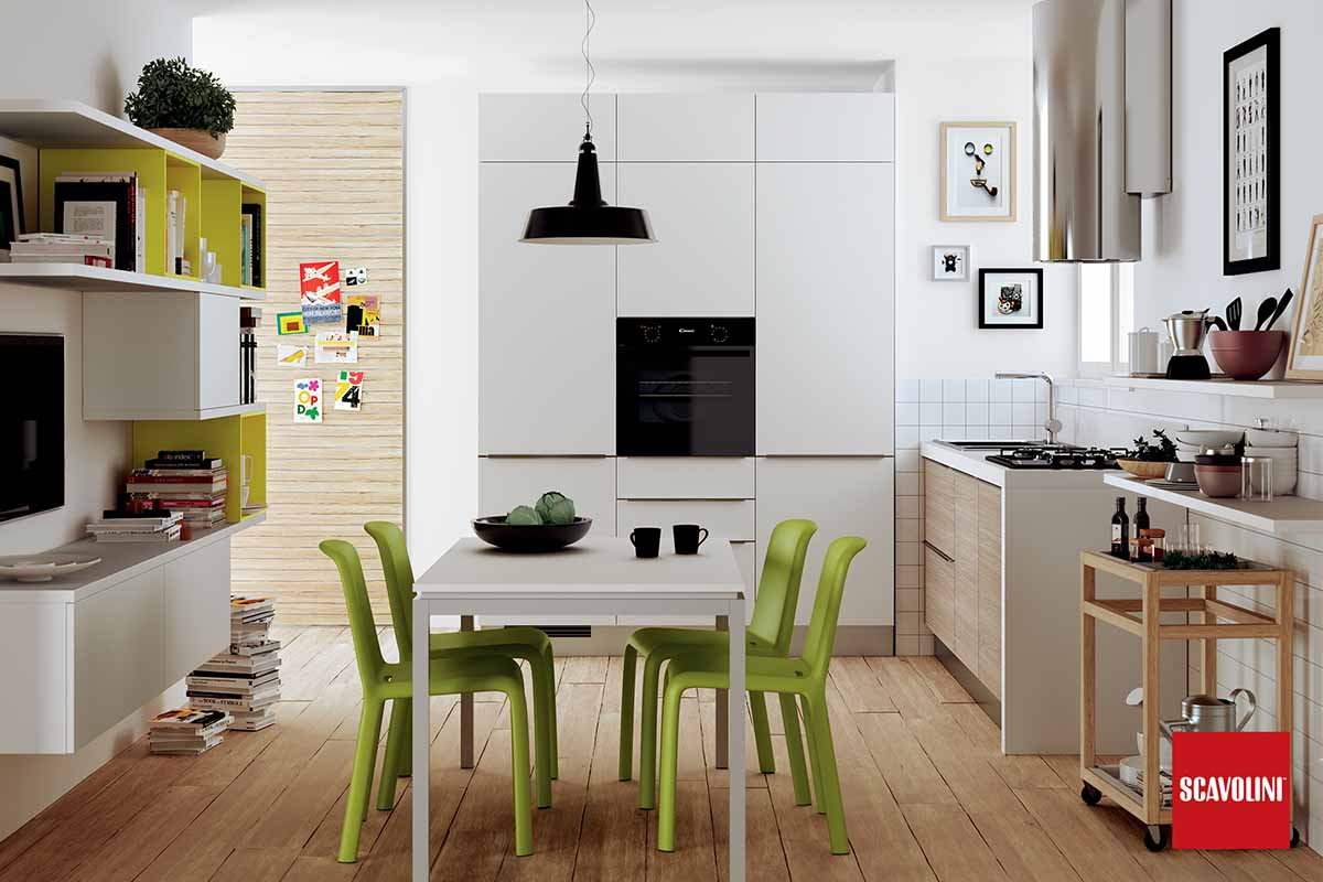 Scavolini Urban Model Kitchen
