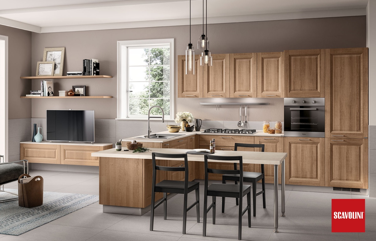 Family Italian kitchen-Scavolini